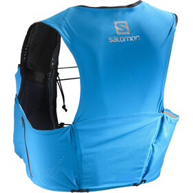 Salomon S/Lab Sense Ultra 5 Backpack Set transcend blue/black